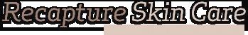 Recapture Skincare Logo